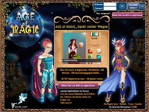 Anfang von Age of Magic