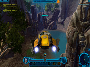 Fiction-MMORPG Star Wars: The Old Republic