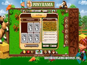 Ponyrama Kostenloses Browsergame